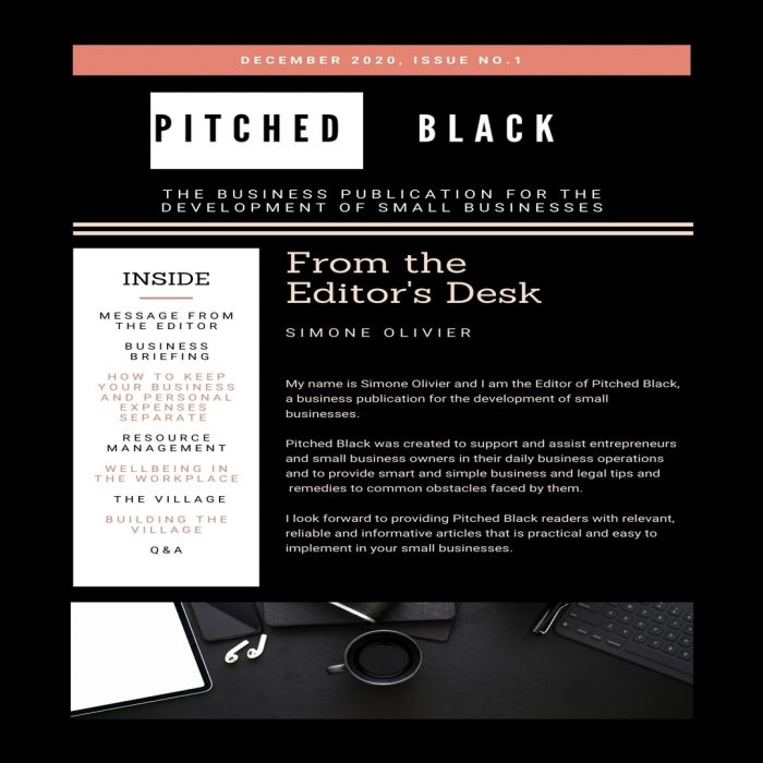 PITCHED BLACK ISSUE 1